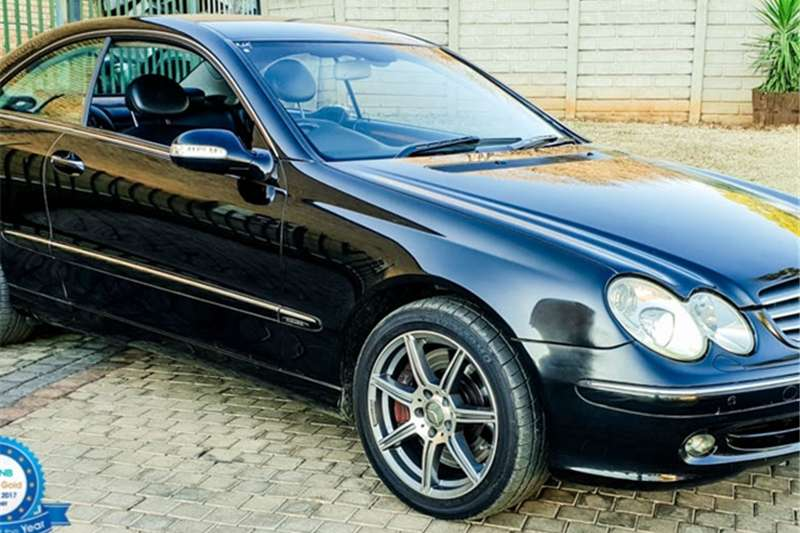 Mercedes Benz CLK 500 coupé Elegance 2003