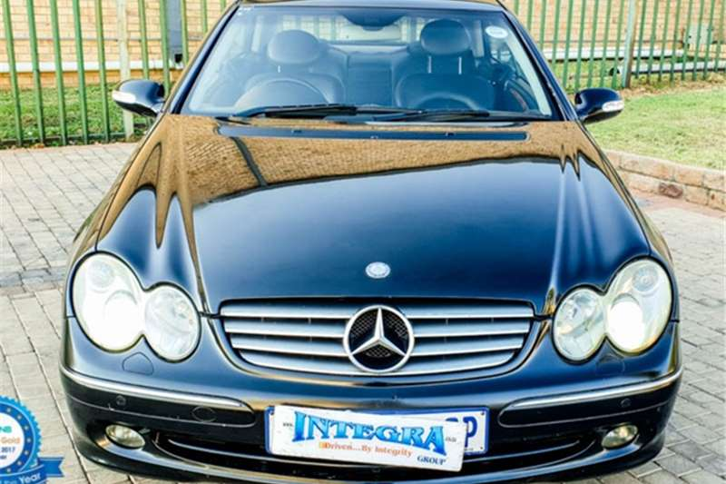 Mercedes Benz CLK 500 coupé Elegance 2003