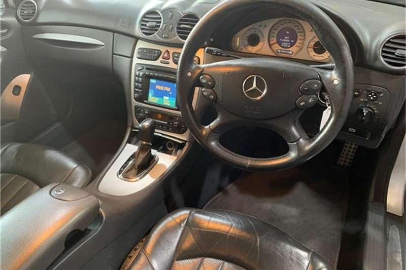 Mercedes Benz CLK 55 AMG coupé 2004