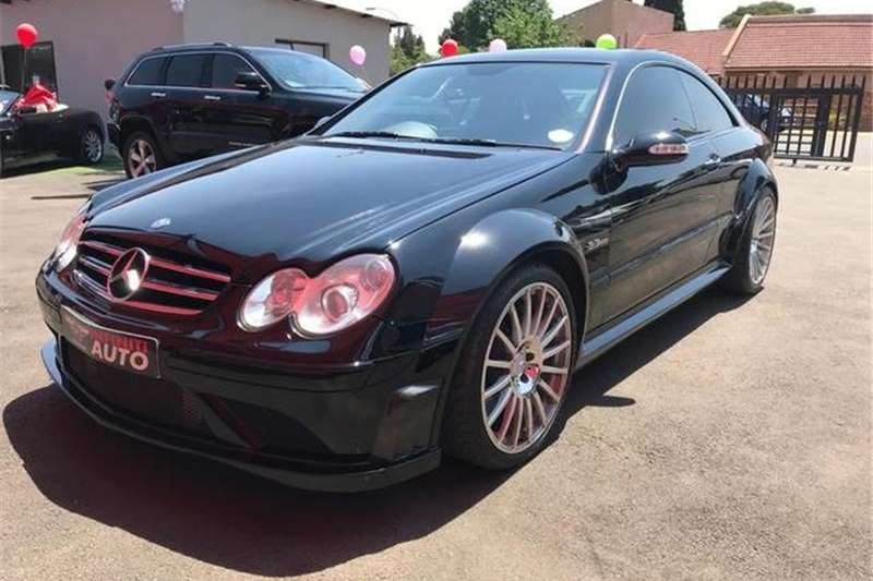 Mercedes Benz CLK 63 AMG Black Series 2008