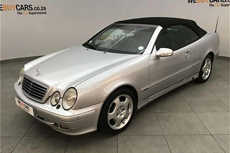 2002 Mercedes Benz CLK