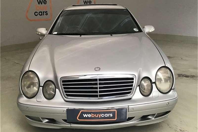 Mercedes Benz CLK Class Coupe 2000
