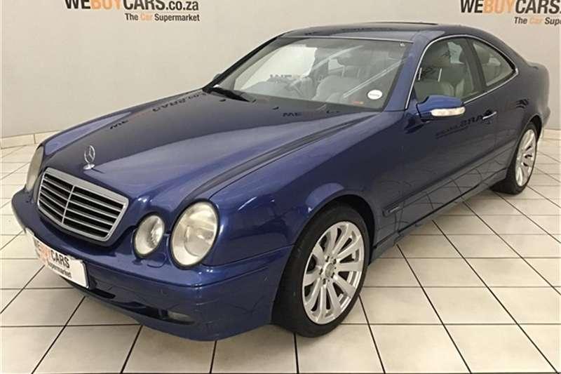Mercedes Benz CLK CLASS COUPE 2001