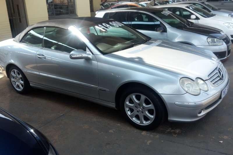 2003 Mercedes Benz CLK 320 cabriolet Avantgarde