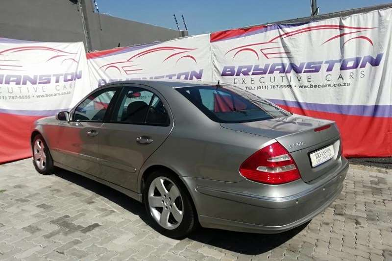 Used 2006 Mercedes Benz E Class