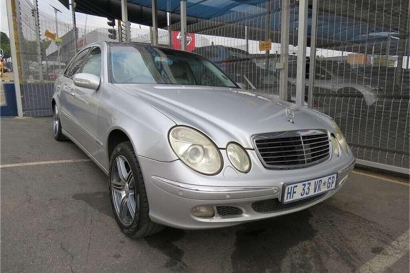 2003 Mercedes Benz E Class