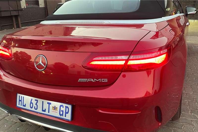 Used 2018 Mercedes Benz E-Class Cabriolet E 220d CABRIOLET