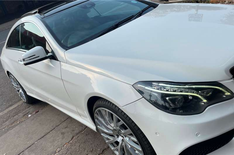 Used 2015 Mercedes Benz E-Class Coupe