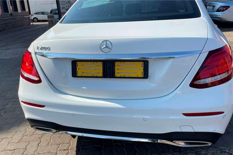 2018 Mercedes Benz E Class E200
