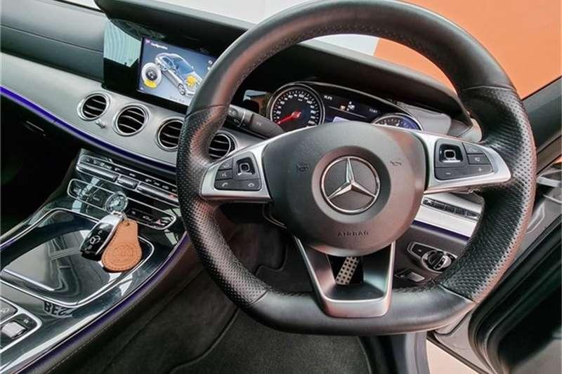 2016 Mercedes Benz E Class E200 AMG Line