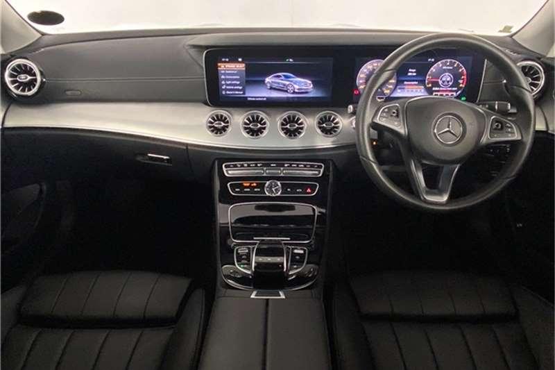 2017 Mercedes Benz E-Class E200 coupe
