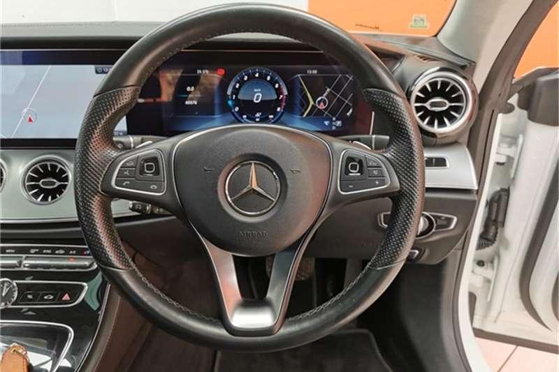 Used 2018 Mercedes Benz E-Class E200 coupe