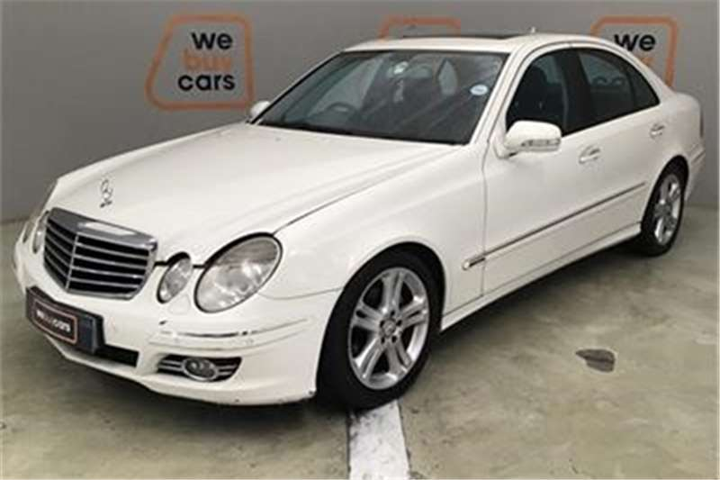 Mercedes Benz E Class E200 Kompressor Avantgarde 2007