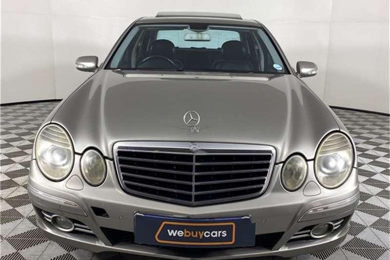 2007 Mercedes Benz E Class E200 Kompressor Avantgarde