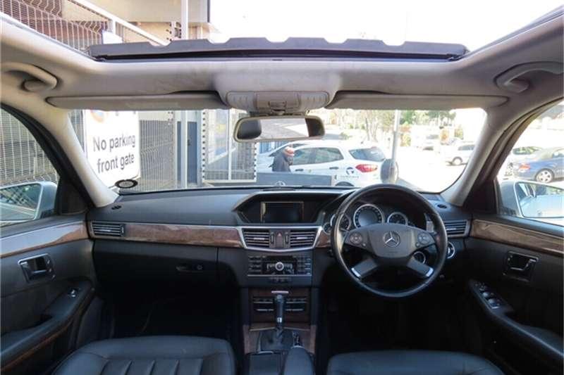 Mercedes Benz E Class E200CGI Elegance 2011