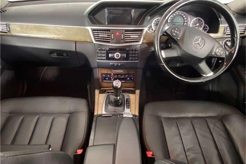Used 2011 Mercedes Benz E Class E200CGI estate Elegance