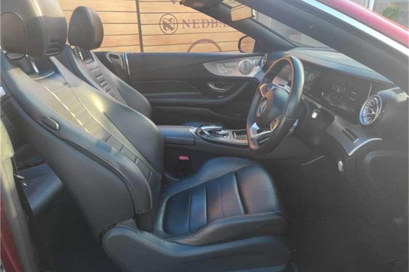 Used 2018 Mercedes Benz E-Class E220d cabriolet