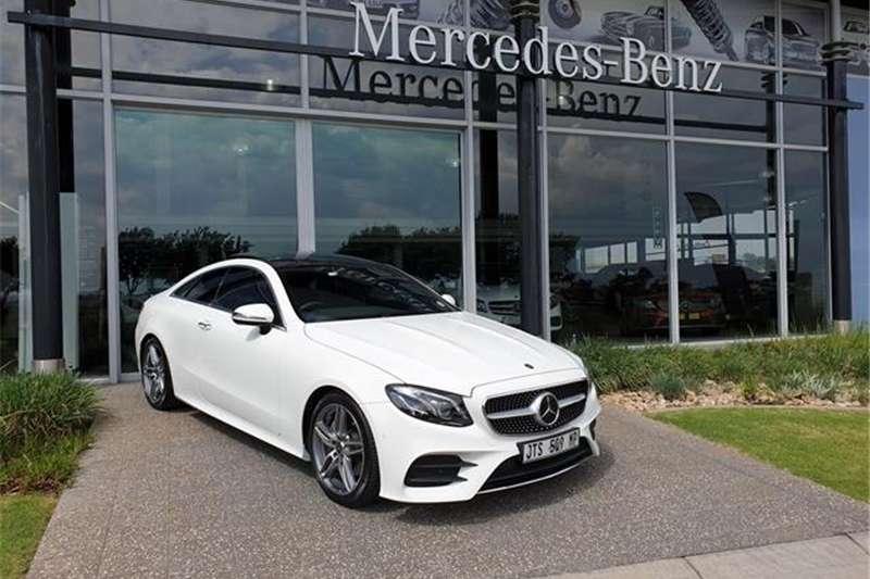 Mercedes Benz E-Class E220d coupe 2019