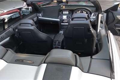 Mercedes Benz E Class E250 cabriolet 2013
