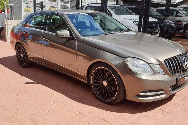 2011 Mercedes Benz E Class E250CDI Elegance
