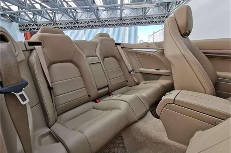 Mercedes Benz E Class E250CGI cabriolet Elegance 2011