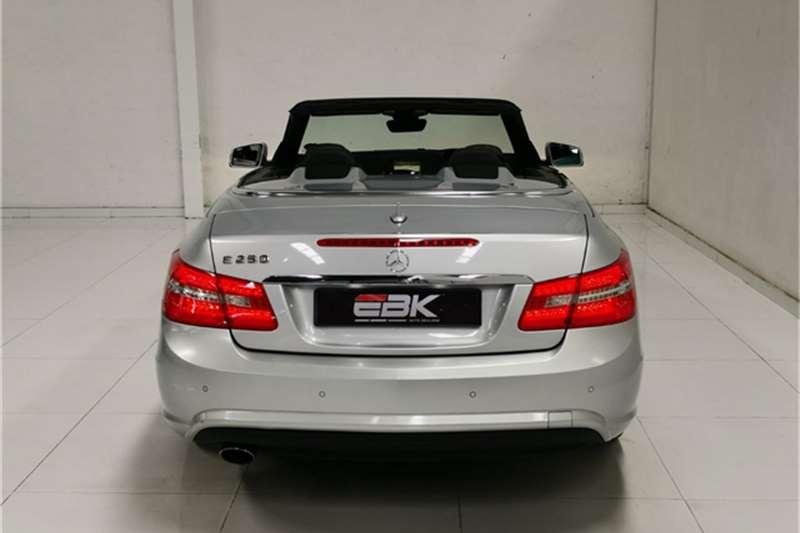 Used 2012 Mercedes Benz E Class E250CGI cabriolet Elegance
