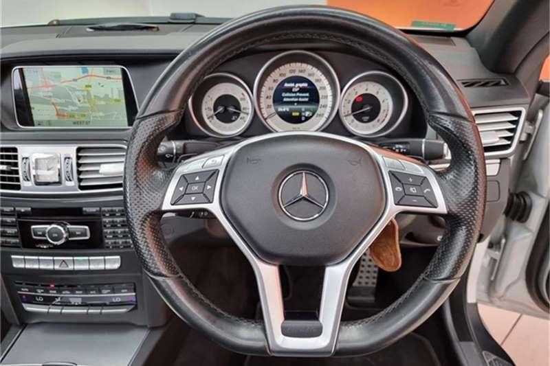 2014 Mercedes Benz E Class E250CGI cabriolet Elegance