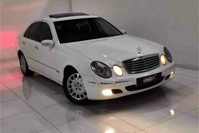 Used 2003 Mercedes Benz E Class