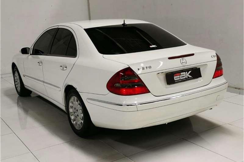 Used 2006 Mercedes Benz E Class