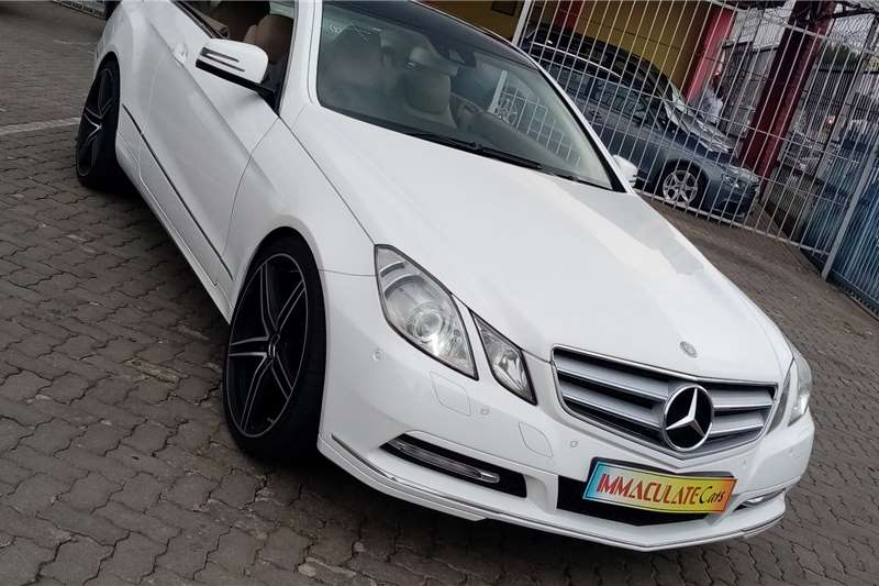 Mercedes Benz E-Class E350 Avantgarde coupe 2012