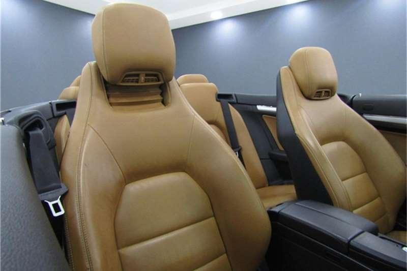 Mercedes Benz E Class E350 cabriolet Elegance 2011