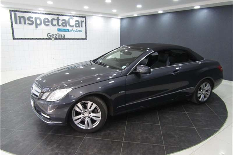 Used 2012 Mercedes Benz E Class E350 cabriolet Elegance