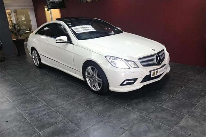 Mercedes Benz E Class E350 Coupe Avantgarde AMG Sports 2011