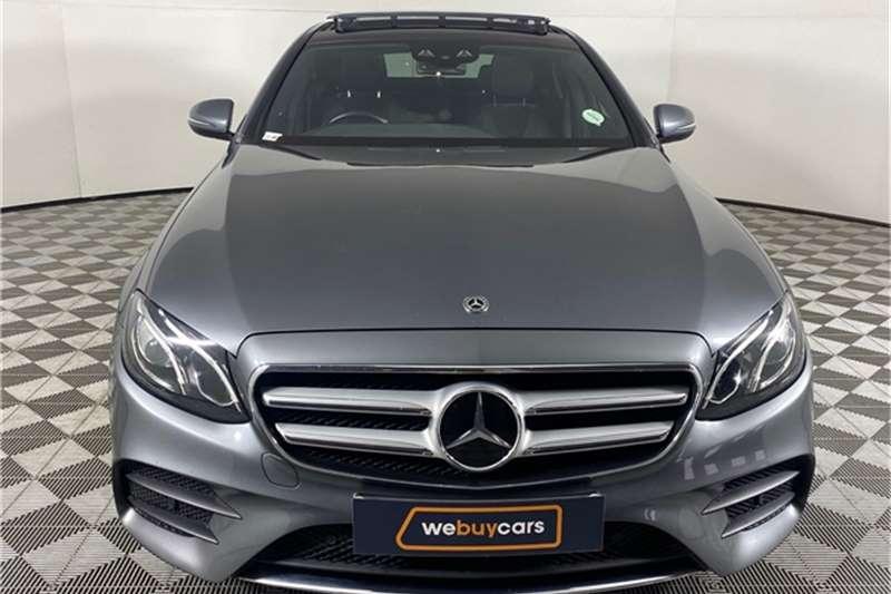 Used 2017 Mercedes Benz E Class E350d AMG Line