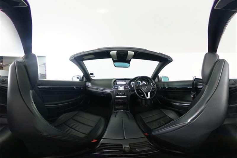 Used 2014 Mercedes Benz E Class E400 cabriolet