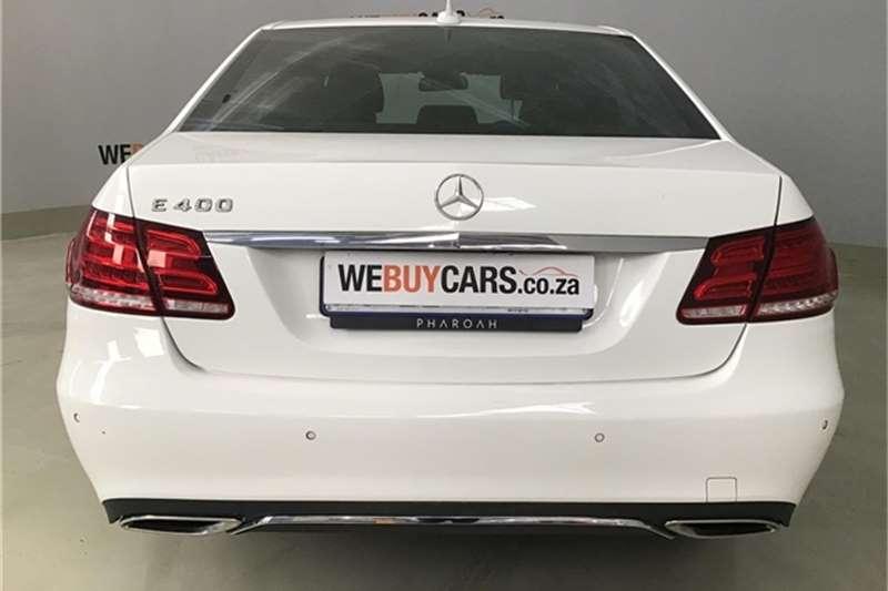 Mercedes Benz E Class E400 Elegance 2014