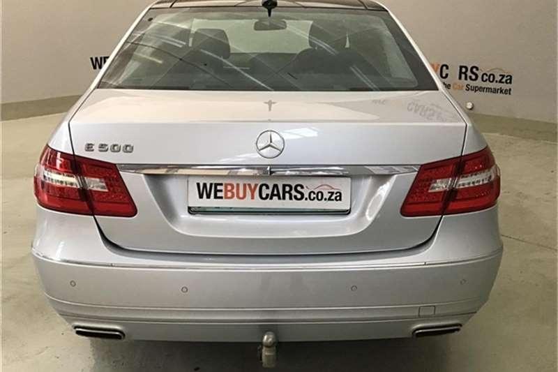 Mercedes Benz E Class E500 Avantgarde 2013