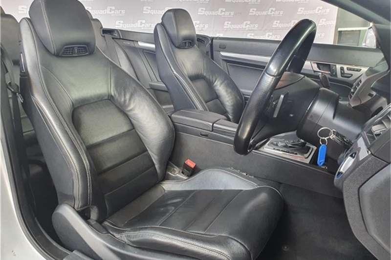 Mercedes Benz E Class E500 cabriolet Elegance 2011
