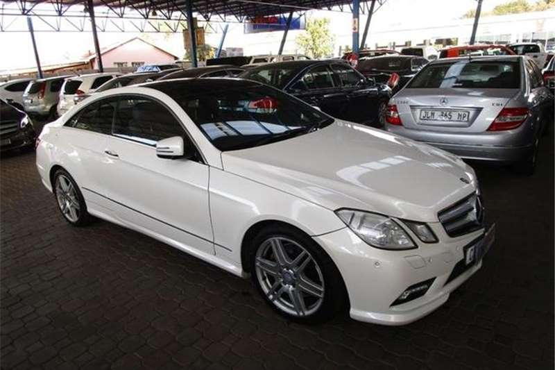Mercedes Benz E Class E500 Coupe Avantgarde 2012