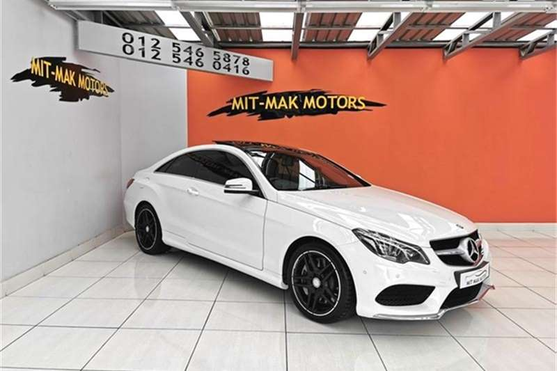 2015 Mercedes Benz E Class E500 coupe AMG Sports