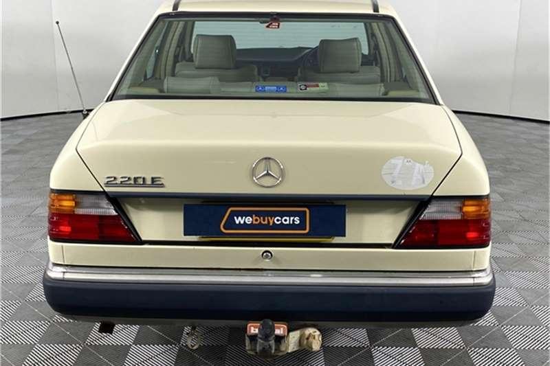 Used 1993 Mercedes Benz E-Class Sedan