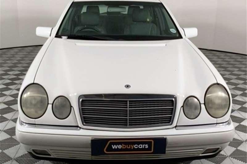 1999 Mercedes Benz E-Class sedan