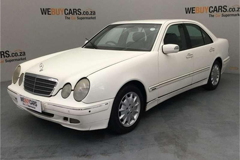 Mercedes Benz E-Class Sedan 2002