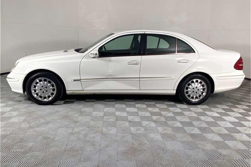 Used 2002 Mercedes Benz E-Class Sedan