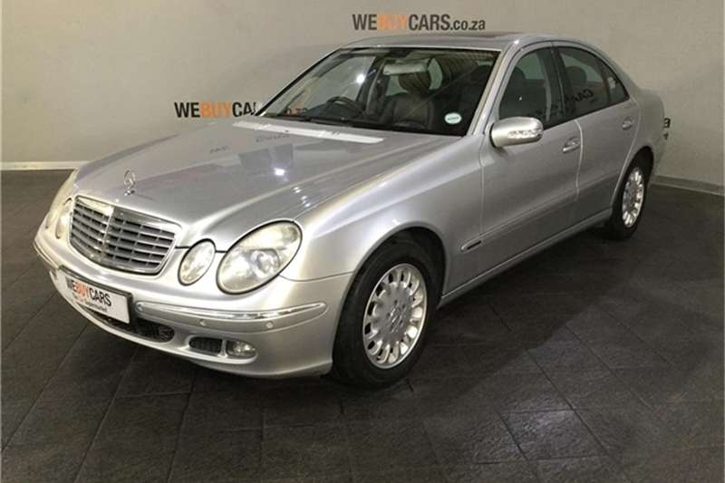 mercedes benz e class sedan 2003 id 63618675 type main - We Buy Cars Cape Town Montague Gardens