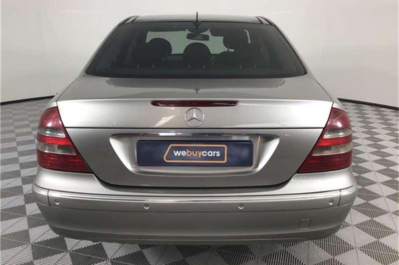 Mercedes Benz E-Class Sedan 2003
