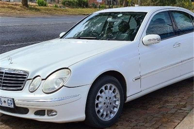 Used 2003 Mercedes Benz E-Class Sedan
