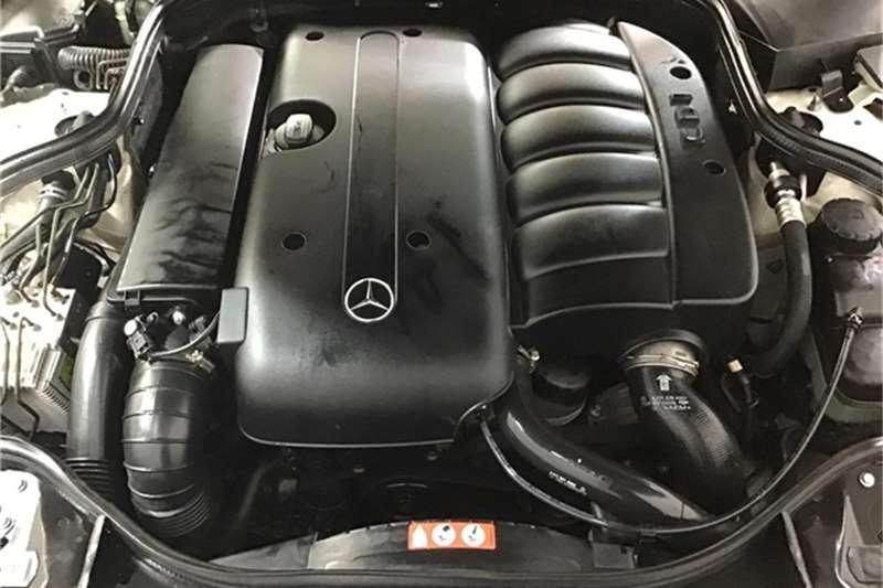 Mercedes Benz E-Class sedan 2004