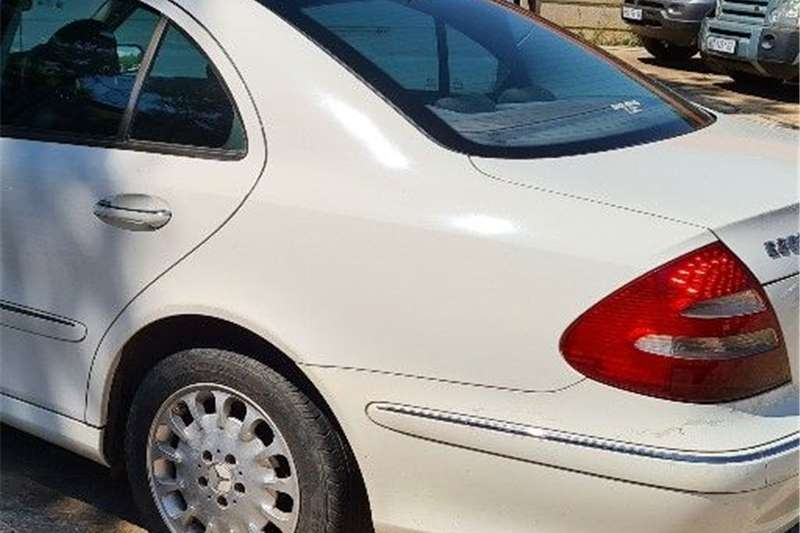 2004 Mercedes Benz E-Class sedan