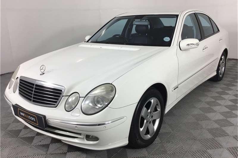 2005 Mercedes Benz E-Class sedan